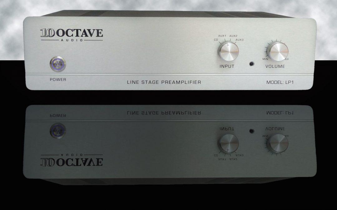 Ten Octave Audio Announces the LP1R Remote Control Tube Preamplifier